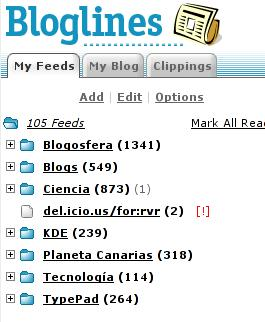 Bloglinesreturns